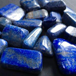 Lapis Lazuli Polished Tumbled Stones Various Sizes. Sold per piece
