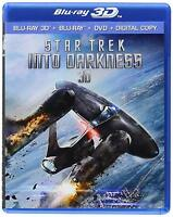 Star Trek Into Darkness 3D Blu-Ray NEW Factory Sealed Free Shipping