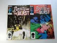 Beauty and The Beast  Marvel 1984 - The Beast & Dazzler Issues #1 & #2