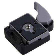 Camera 323 Tripod Quick Release Clamp Adapter+ QR Plate for Manfrotto 200PL-14