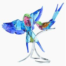 Swarovski Crystal Lilac-Breasted Rollers #5258370 Brand Nib Birds Save$ F/Sh