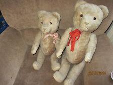"""2 antike große """"Hermann"""" Teddybären"""