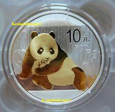 China Panda 2015 Gildet - BU - 1 Oz .999 Ag * * Maximal 5.000 Ex. * *
