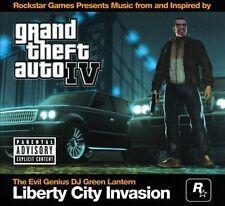 NEW Grand Theft Auto IV: Liberty City Invasion (Audio CD)