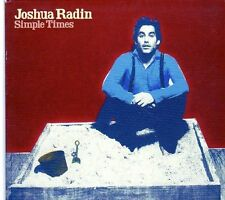 (EK72) Joshua Radin, Simple Times - 2010 CD