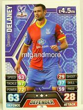 Match Attax 2013/14 Premier League - #075 Damien Delaney - Crystal Palace