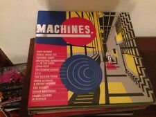 "V/A MACHINES 12"" LP SYNTH POP CRASH COURSE IN SCIENCE JOHN FOXX GARY NUMAN XTC"