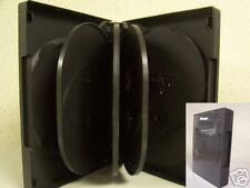 240 TEN 10 DISC DVD CASE, BLACK - SF004 - WHOLESALE