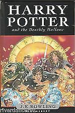 HARRY POTTER AND THE DEATHLY HALLOWS - J K ROWLING  FIRST EDITION HARDCOVER
