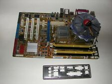 Combo ASUS P5B SE LGA775 + Intel Core2 Quad 2.4GHz Q6600 CPU, FAN, 2GB RAM, iO