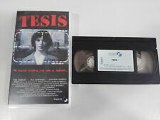 TESIS VHS TAPE COLECCIONISTA EDICION ESPAÑOLA EDUARDO NORIEGA FELE MARTINEZ