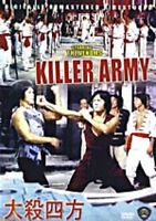 Killer Army----- Hong Kong RARE Kung Fu Martial Arts Action movie - NEW DVD