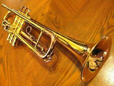Selmer K Modified Bb Trumpet Custom Gold (and Rose Gold) Plated Nearly Mint