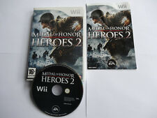 Medal of Honor : Heroes 2 wii compatible wii U original VF complet