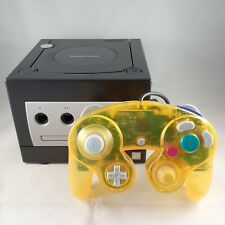 2001 Nintendo Gamecube GC Console - Black version DOL-001 EUR - Working