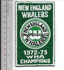 World Hockey Association WHA New England Whalers 1972 73 Champions AVCO Cup