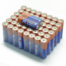 50pcs 1.5V AA Alkaline Batteries MN1500 LR6 AM3 Ultra AA Single Use Battery