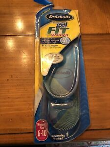 Dr Scholls Massaging Gel Insoles For Women 1 Pair Womens Size 6-10 Foot Care