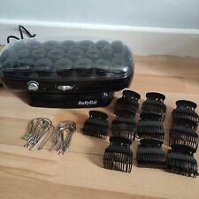 BaByliss R24 Hair Curlers Heated 20 X Hair Curlers Velvet Rollers 2way temp wave