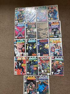 Punisher Comic Lot Of 18 Comics