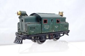 Ives Railway Lines 3251 0-4-0 Electric Locomotive Engine Runs Well & Lights Up
