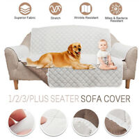 1/2/3 Seater Sofa Cover Pet Dog Cat Couch Seat Slipcover Mat Furniture Protector