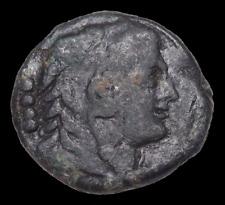 New ListingApulia, Luceria. Æ Triens. Circa 211-200 Bc. Head of Herakles / Club, Rare