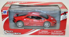 NewRay 1/24 Scale Metal Model Car 71313 - Lamborghini Huracan LP 610-4 - Red