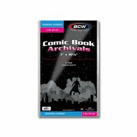 50 - Archivals Modern / Current 2-Mil Mylar Polyester Comic Book Bags by BCW!