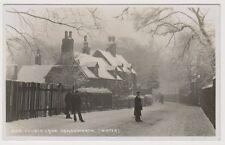 More details for warks/w midlands postcard - church lane, handsworth (winter) - rp (a77)