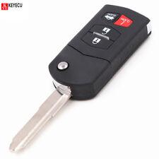 Flip Remote Key 4B 315MHz 4D63 Chip for Mazda 3 5 6 RX8 CX-7 CX-9 662F-SKE12501