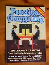 Practical Computing magazine Sept 1983 - Oric printer - BBC games - IBM PC XT