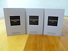 VALENTINO UOMO ,eau toilette SPRAY TRAVEL SIZE  1.5 ml   ** YOU GET 3 samples **