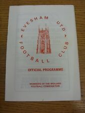 30/10/1982 Evesham United v Chipping Norton Town  . Thank you for viewing this i