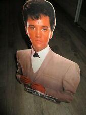 Elvis Presley-PLV d époque et d origine-Grand modèle-40 cm-TBE