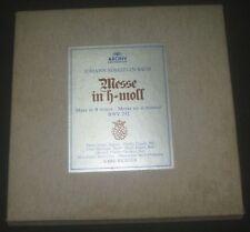 BACH Mass In B Minor RICHTER / FISCHER-DIESKAU  3 LP Box ARCHIV 2710 001