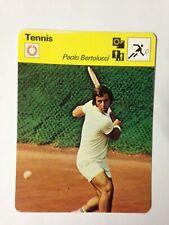 CARTE EDITIONS RENCONTRE 1979 / TENNIS - PAOLO BERTOLUCCI