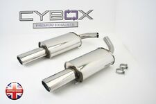 MERCEDES CL500 (C215) STAINLESS STEEL BACK BOXES / EXHAUST
