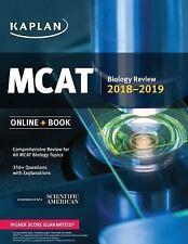 Kaplan Test Prep: MCAT Biology Review : Online + Book Vol. by Kaplan (2017,...