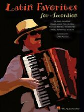 Latin Favorites for Accordion Accordion Songbook NEW 000310932