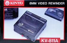 Rewinder Kinyo Video8, 8mm, Hi8, D8 (Digital8) Videokassetten Rück spulgerät OVP