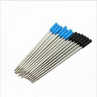 Cross Style Ballpoint Pen Ink Refills Black And Blue Stationary Supplies 10 PCS