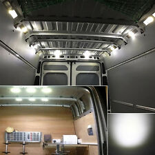 6x ultra dünnes LED Auto Innenbeleuchtung 12V Panel Licht Lichtquelle + Charger