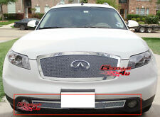 Fits Infiniti FX35/ FX45 Bumper Stainless Mesh Grille 03-05