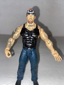 "WWE Jakks Ruthless Aggression 4  ""American Badass"" Undertaker  Wrestling Figure"