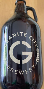 Granite City Brewery 64 oz Growler