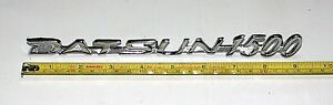 """Fender Emblem """"Datsun 1500"""" for Bluebird 510 1968-1973"""