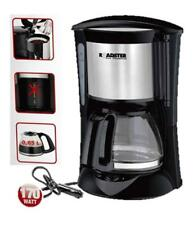 12V ELECTRIC COFFEE MAKER 170W 4-5 CUPS BLACK PLUG IN PORTABLE CAR CAMPING 81534