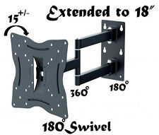 "New Articulating Swivel Corner Arm Tilt LCD LED TV Wall Mount supports 13"" - 40"""