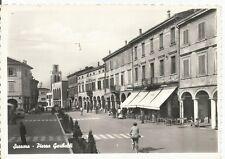 160775 MANTOVA SUZZARA Cartolina FOTOGRAFICA viaggiata 1964